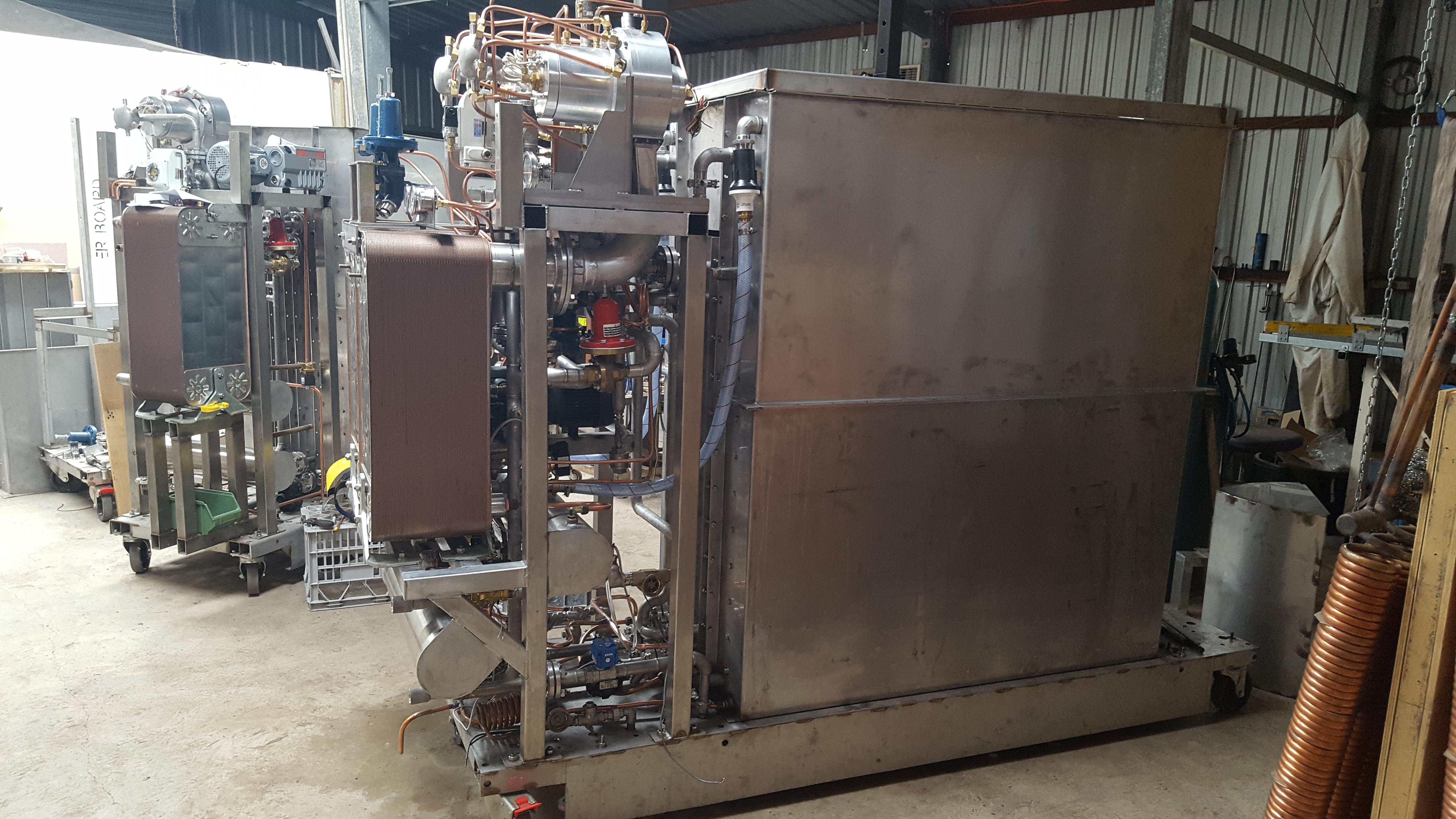 15 - 30 kWe CHP system